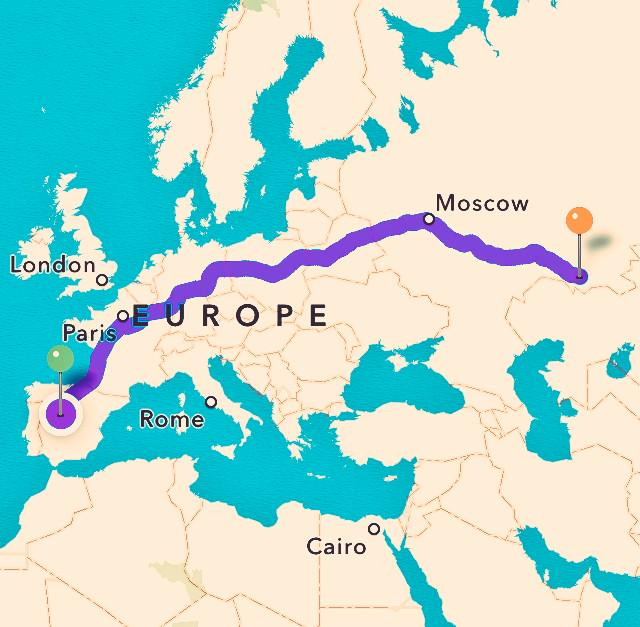 Off to Russia...