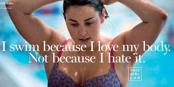 Who saw the #thisgirlcan advert just now on ITV?! So empowering! http://t.co/ty7ohodtRK http://t.co/quUeMR8pZB