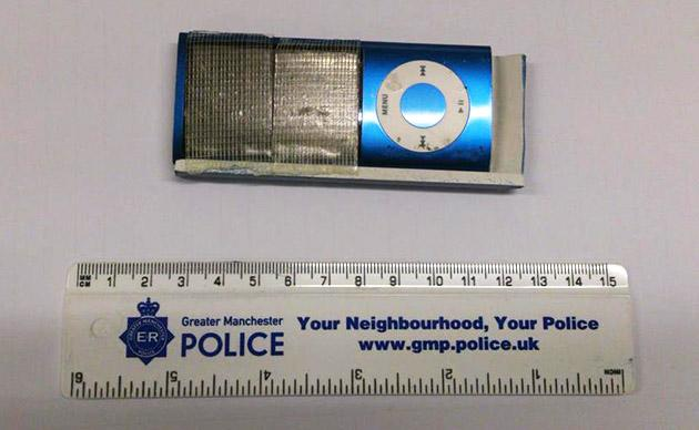 Thieves tried to swipe credit cards using an iPod nano
