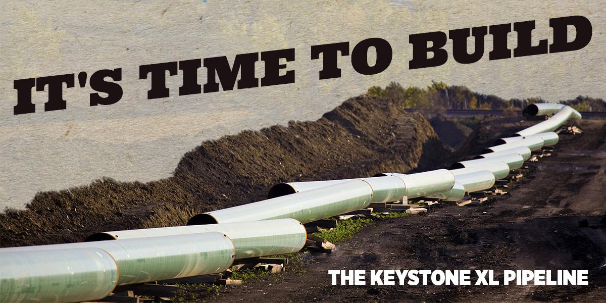 #KeystoneXL pipeline is a big step toward energy independence. It's #TimeToBuild. RT to send the message to POTUS! http://t.co/QxmAf1AZFl