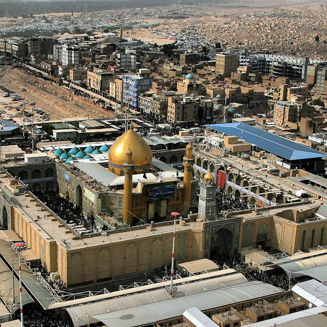 """Maula Ali Shrine Wallpaper: Iraq Pictures On Twitter: """"The Imam Ali Mosque In The Holy"""