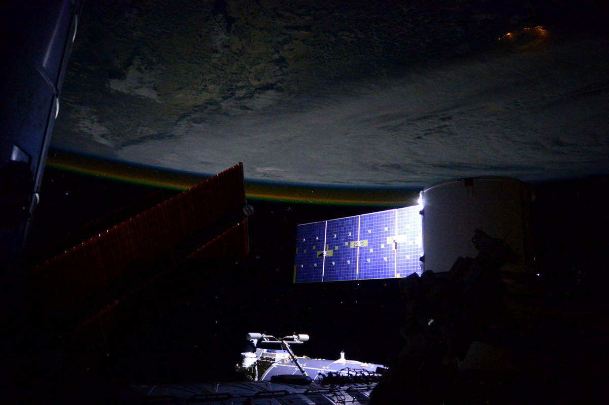 Samantha Cristoforetti On Twitter Good Night From Space They