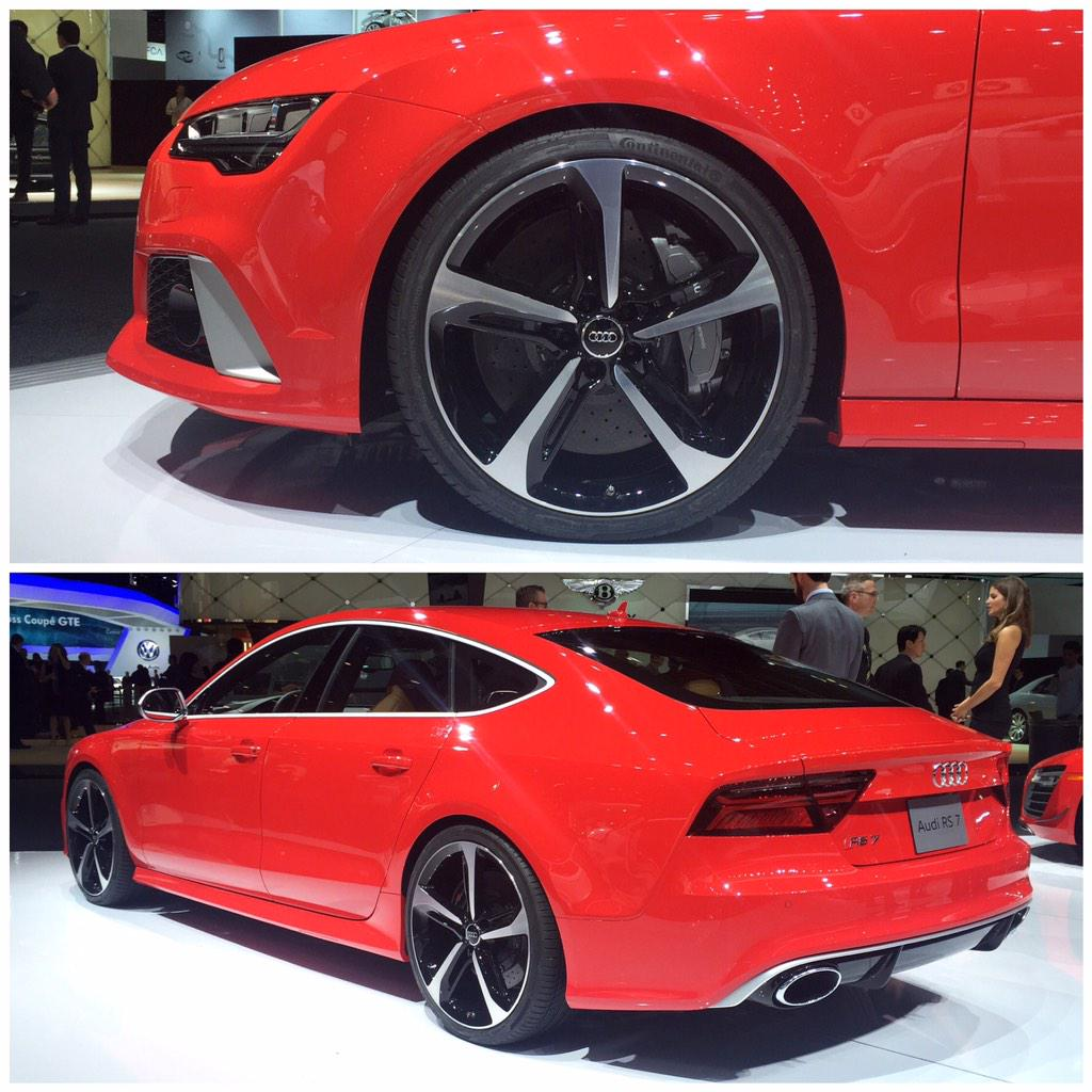 A few more looks at the @Audi #RS7 on display at this year's #NAIAS in Detroit. #naias2015 #audi @Audi_Online http://t.co/T4mXgTHV6c