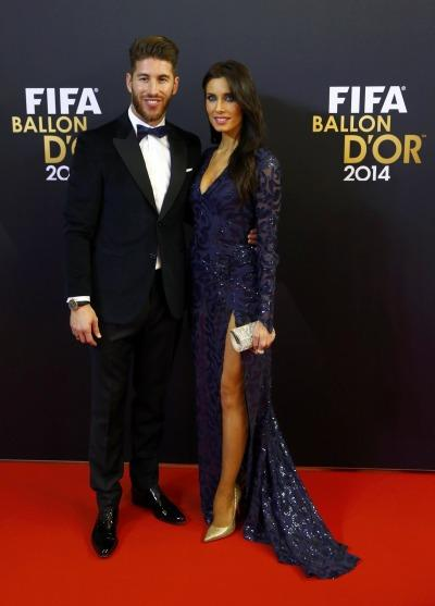 Sergio Ramos' girlfriend Pilar Rubio was a big hit at the ...