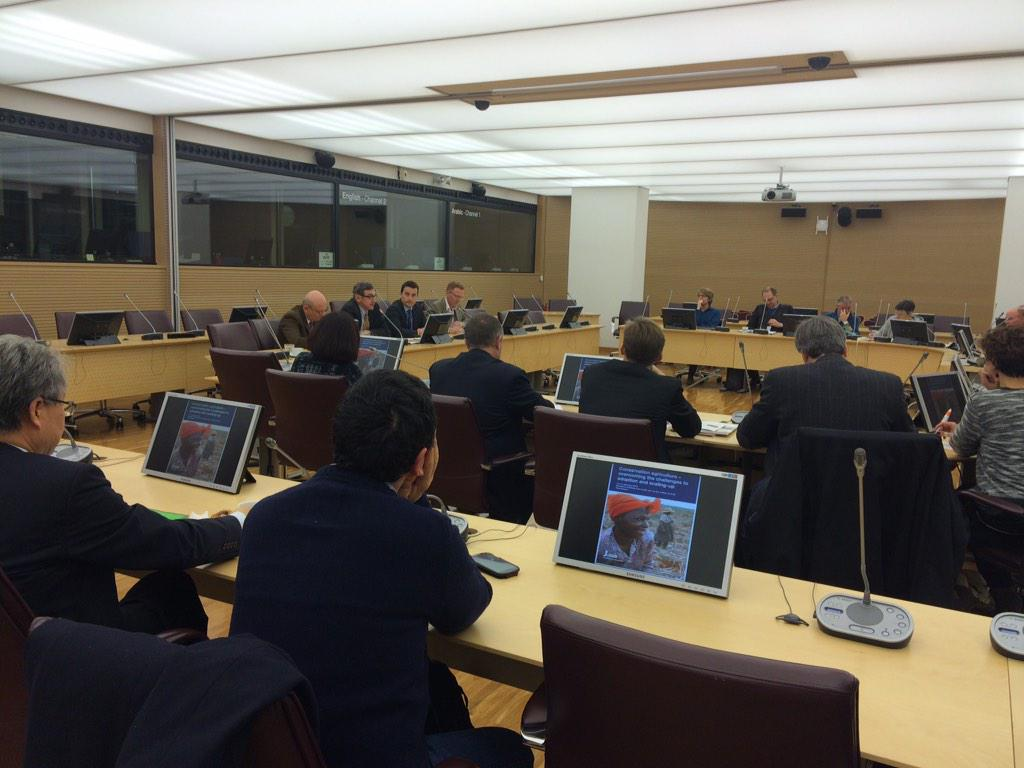 RT @beatews: Conservation #agriculture on agenda today. Follow webcast: http://t.co/skFWKKqFQh  #ifadca http://t.co/vp3HFQnkmr