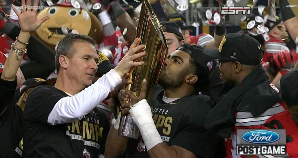 "#GoBucks ""@ESPNCFB: Ohio State wins its 1st title since 2002 #UOvsOSU http://t.co/45jTUZyBsx"""