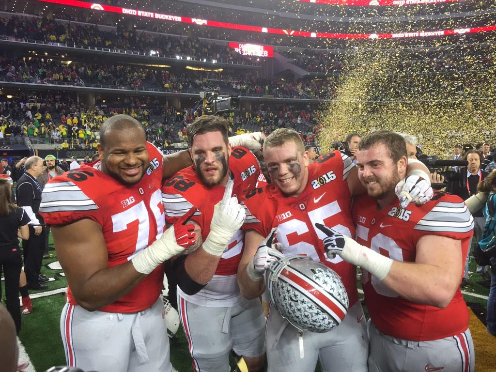 #GoBucks NATIONAL CHAMPS! @CFBPlayoff @OSUCoachMeyer @OhioState http://t.co/BLrrzrBdPn