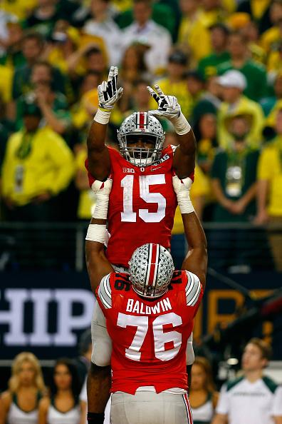 #Zeke: 246 yards rushing, 4 touchdowns, 1 NATIONAL TITLE: http://t.co/3vVTbj5V4L #GoBucks #NationalChampionship http://t.co/vyFjGhItt2
