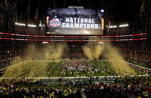 "#GoBucks ""@AP_Top25: SEE: The Buckeyes of @OhioStAthletics, your national champions http://t.co/Q9lDmFhv6Y http://t.co/d1mwLpRIXC"""