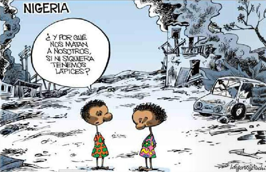 Nigeria denuncia el avance de Boko Haram ante la indiferencia de occidente http://t.co/SZCG4W9P57  Idígoras & Pachi: http://t.co/APgdGhVnC9