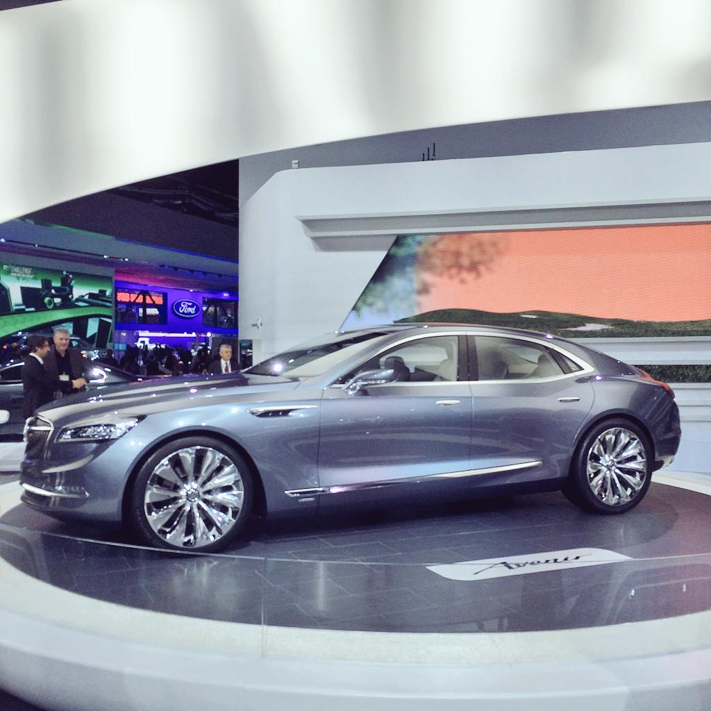 Nice job on the #Avenir @Buick. Could be my favorite concept of #NAIAS this year. And that's sayin something. http://t.co/rkThJxYjtw