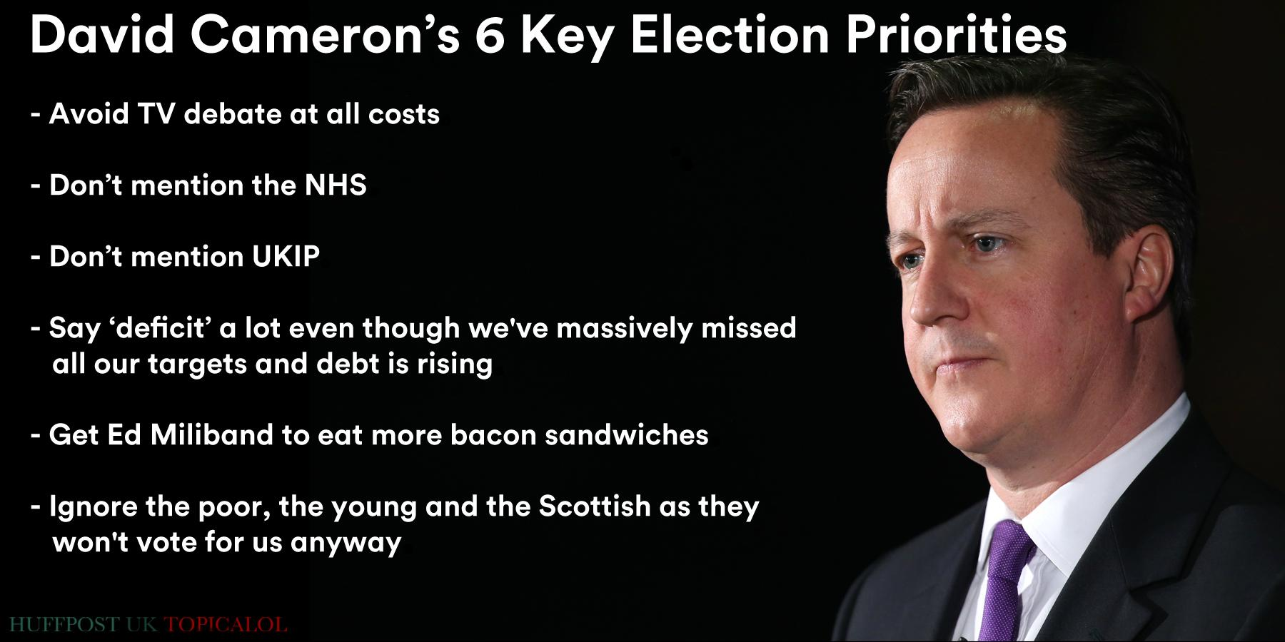 A reminder of the Conservative's 6 key election priorities #bbcqt  (done for @HuffPostUKCom) http://t.co/2sg4n3FrhL http://t.co/vUuRcyQigv