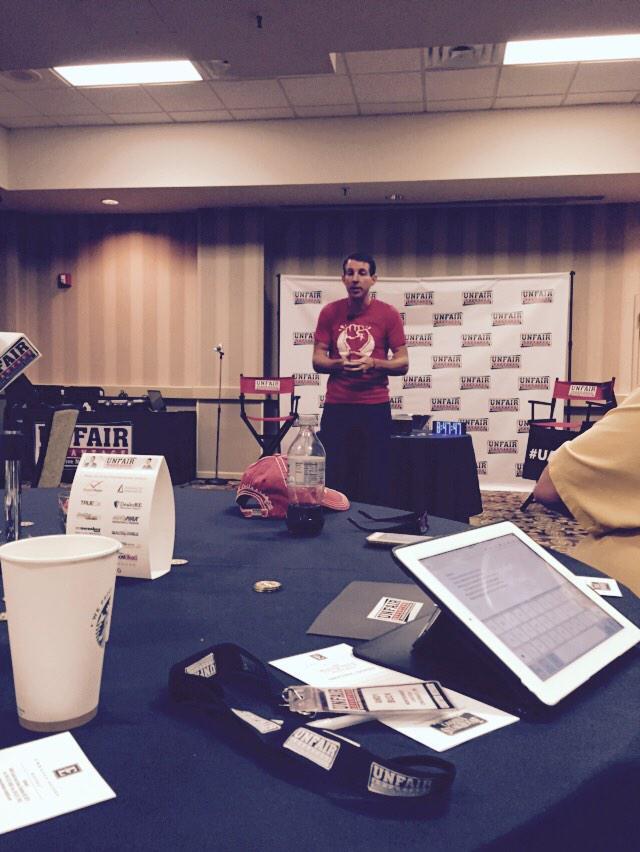 . @DanWaldo rocking it at #UAAMG #GetEdgy http://t.co/OV7D1o00jo