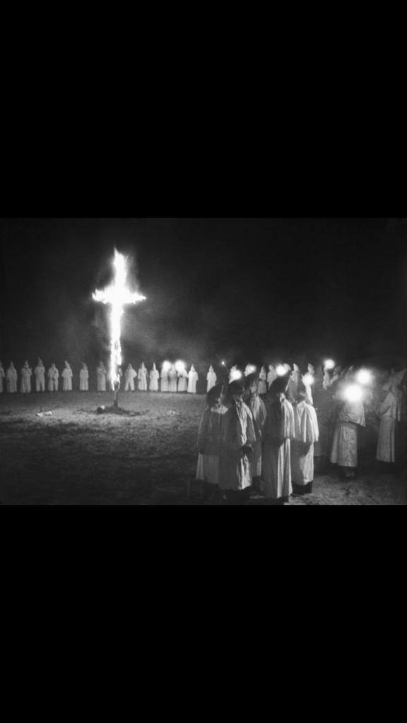 Patriotic Americans being forced by Muslim jihadists to wear burqas and burn their crosses. #FoxNewsFacts http://t.co/8uWARuQyzN