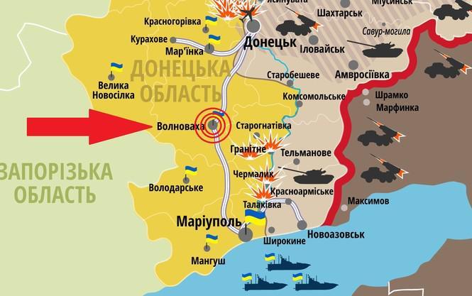 Обстрел блок-поста батальона