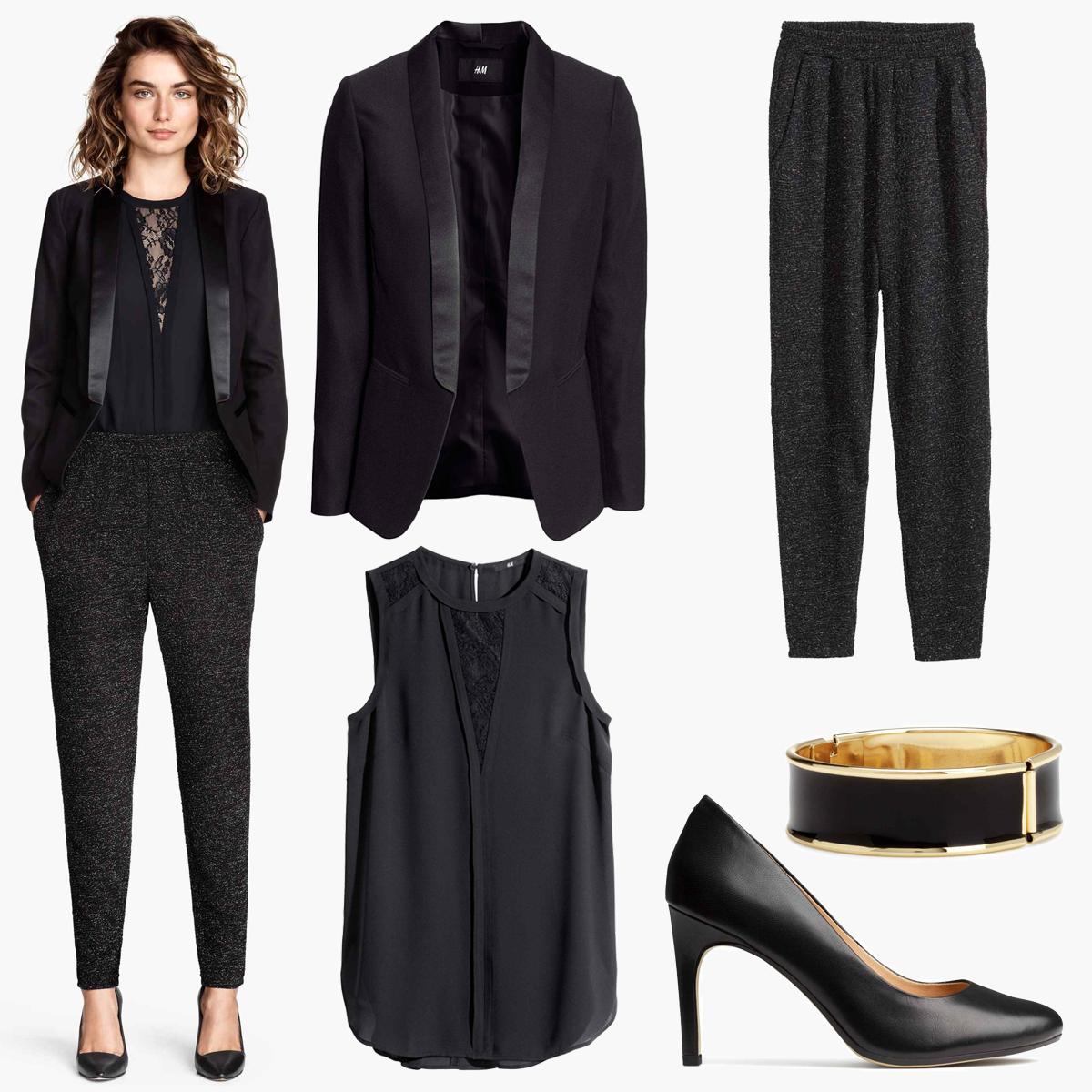 chic classique et cool la petite veste noire est un article essentiel dans la garde robe d 39 une. Black Bedroom Furniture Sets. Home Design Ideas