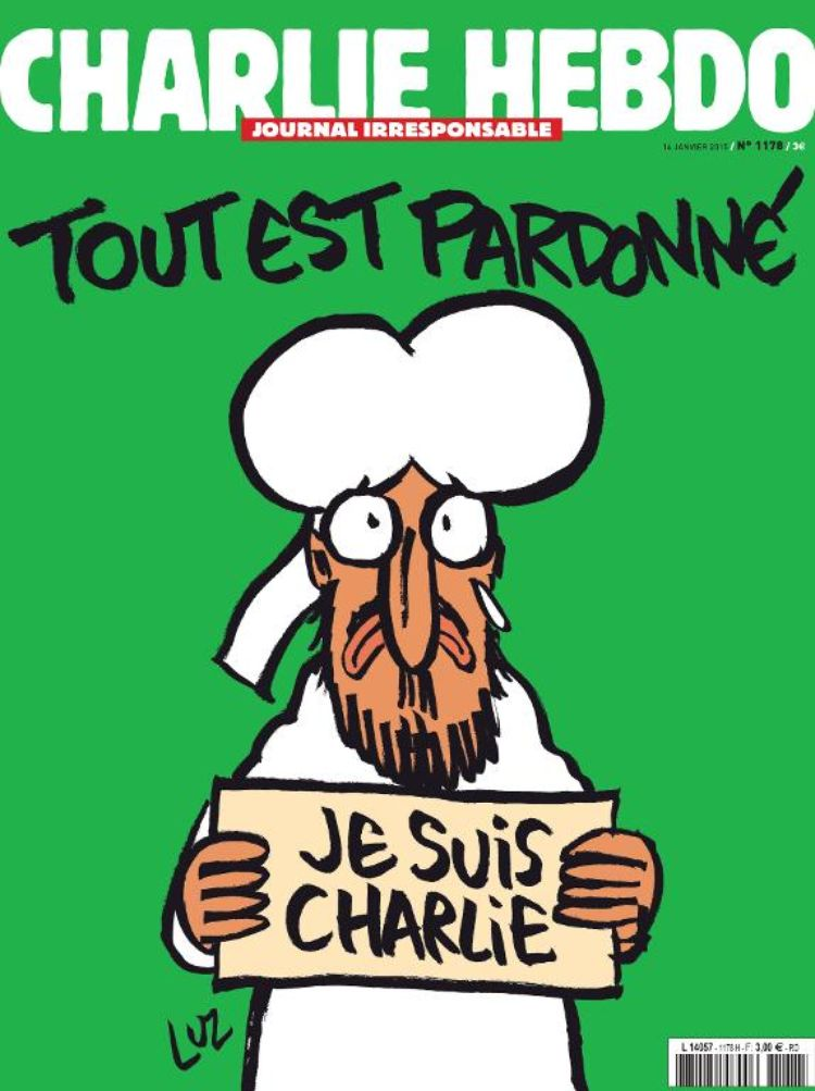 Nueva portada Charlie Hebdo