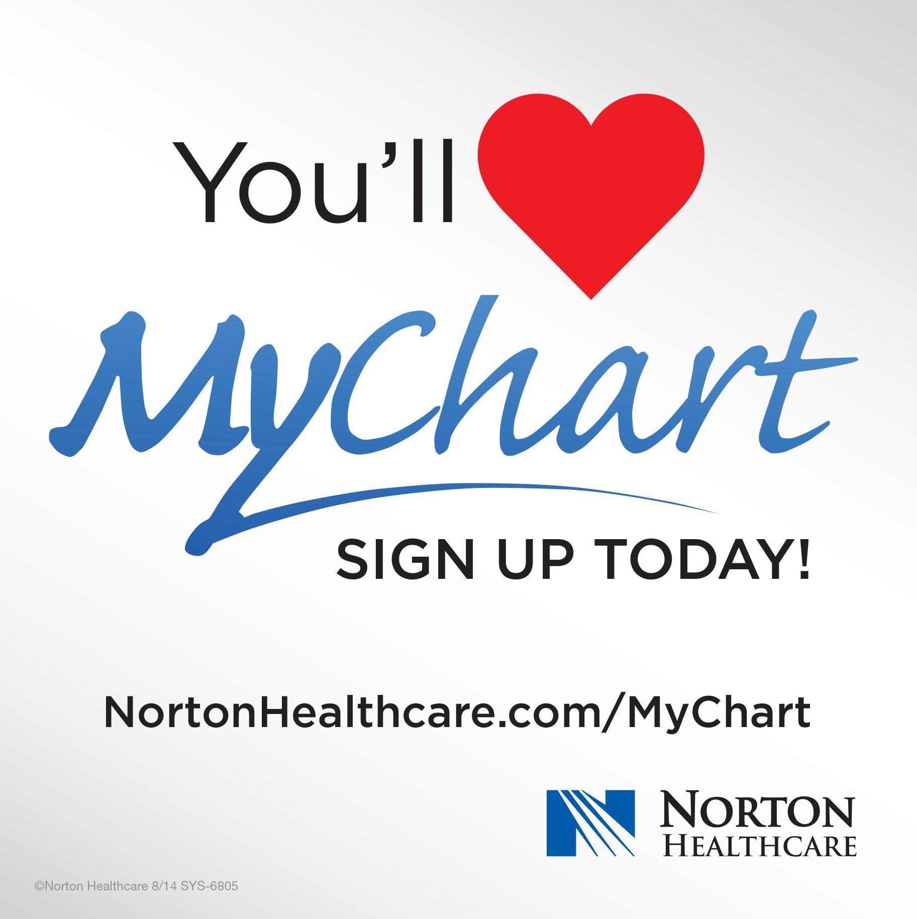 Norton healthcare louisville ky my chart with mynortonchart