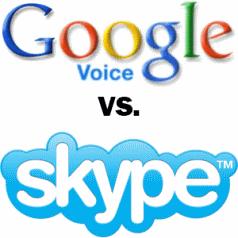 Google vs Skype