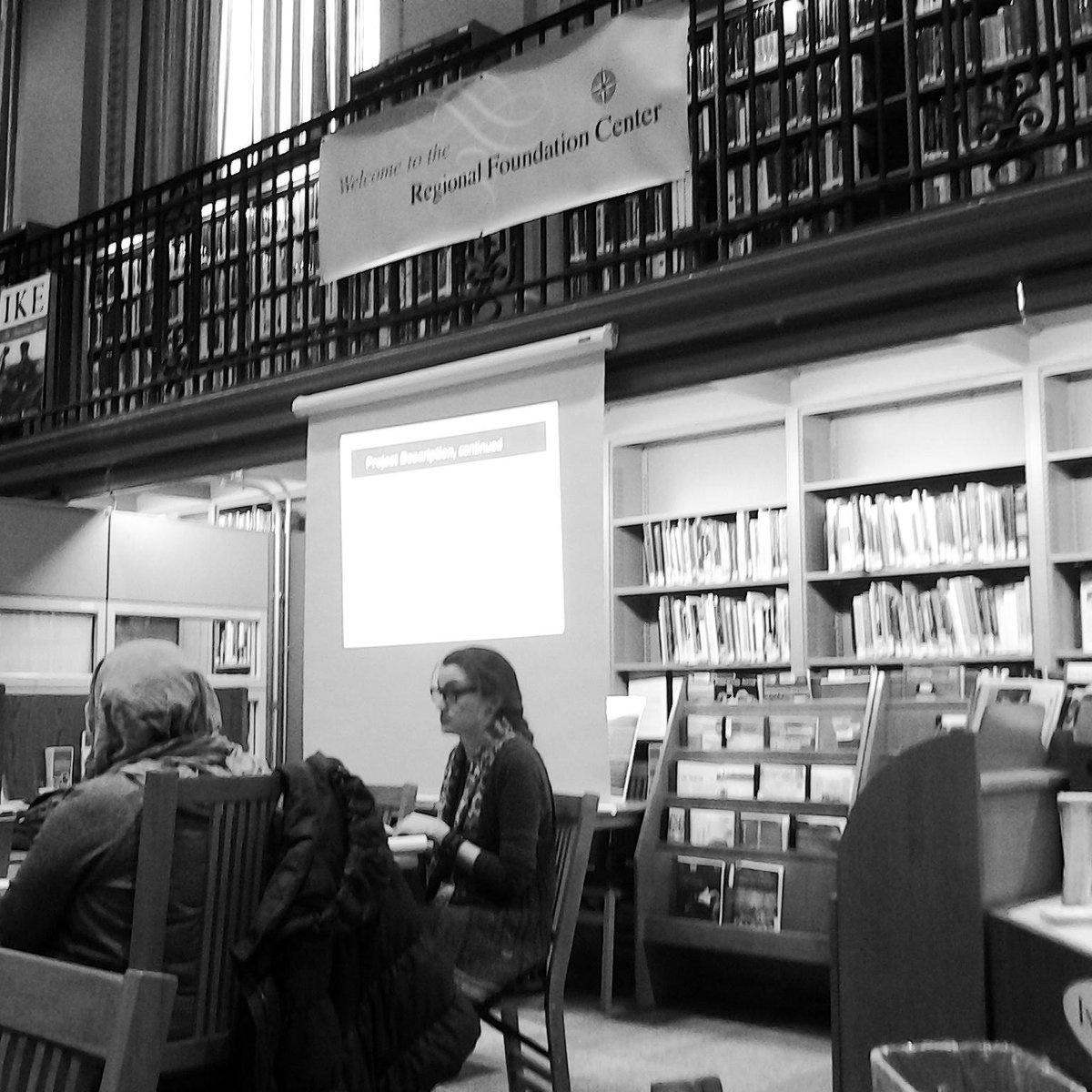 At @FreeLibrary @rfcinfo Proposal Writing Basics. Then online for the #grantchat at noon. #grantwriting day http://t.co/WQvfY6yPkj