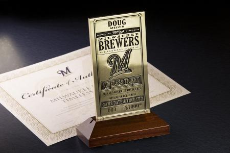 Brewers roll out 'Timeless Tickets'