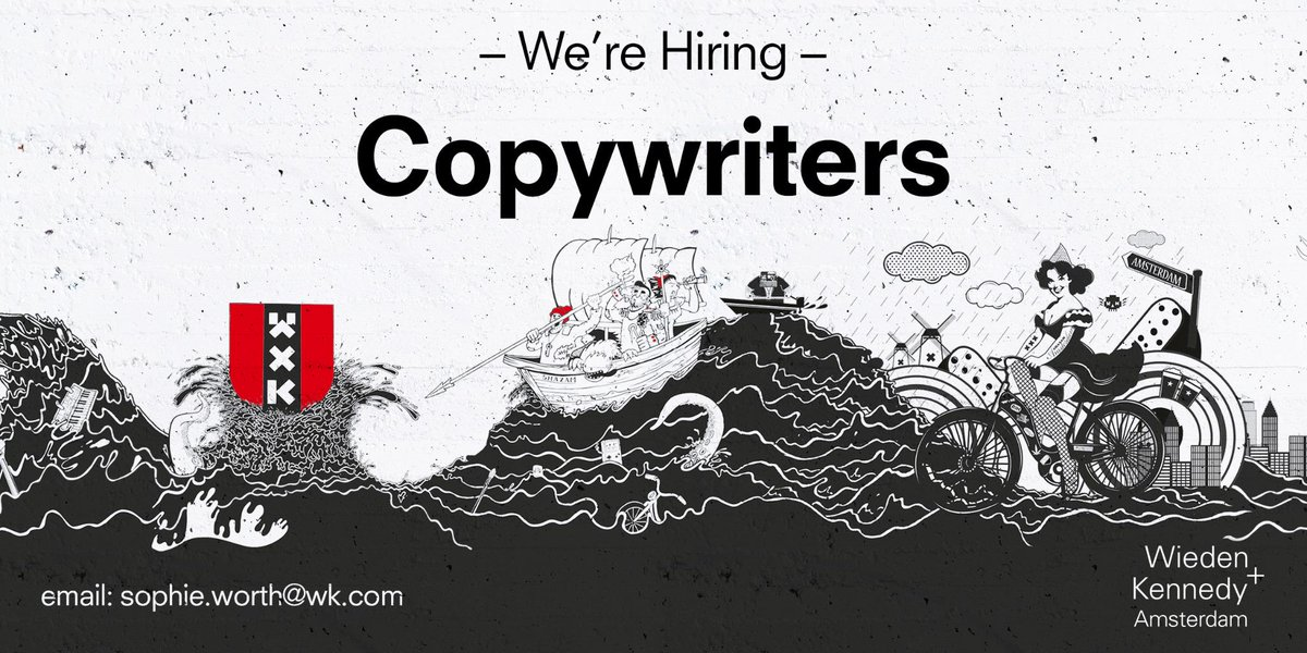 We're looking for copywriters - [insert joke here] #copywriter #job #advertising http://t.co/F1mLzwHfeD