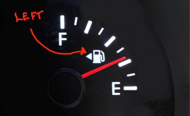 Ever pull into a gas station in a rental & not know where the gas cap is?  You're welcome.  http://t.co/3LzQVdcILd http://t.co/zwWpmS1XBF