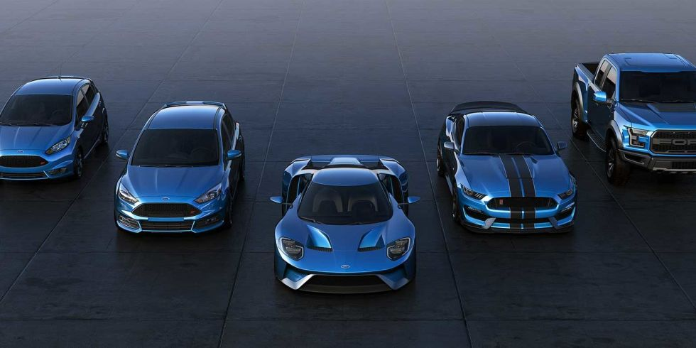 Road Track On Twitter Ford S Liquid Blue Is The New Black