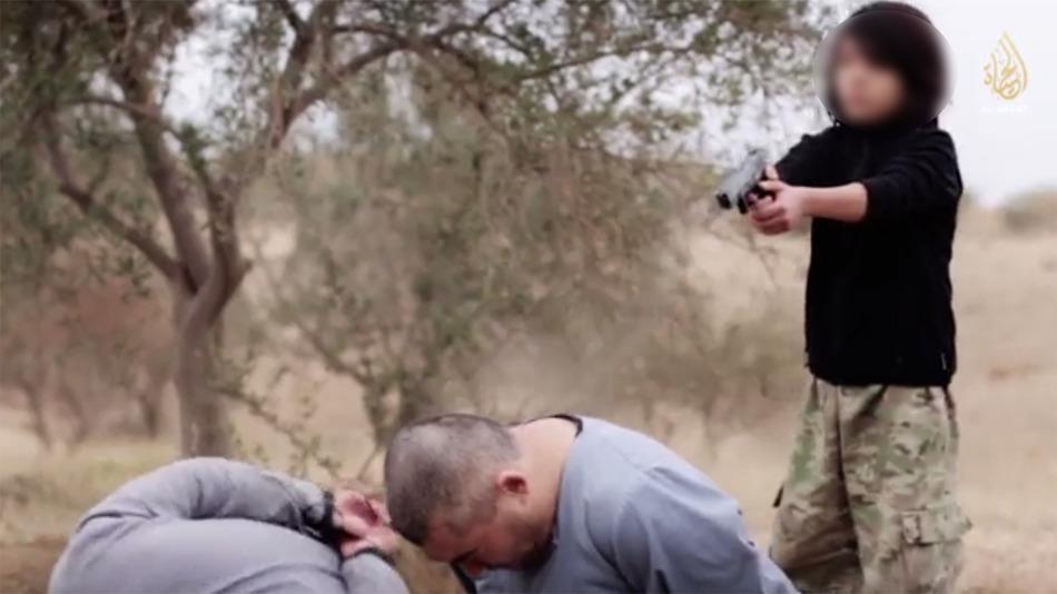 Niño asesino del Estado Islámico 2
