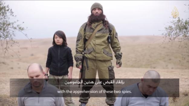 Niño asesino del Estado Islámico