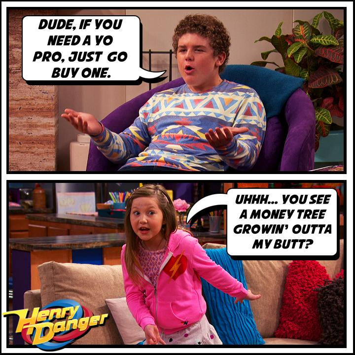 Henry Danger On Twitter Uhhh You See A Money Tree Growin
