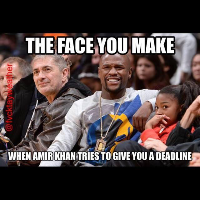 Whenever I find funny memes like this I send them to @FloydMayweather lol. Not sure if he likes them as much as I do
