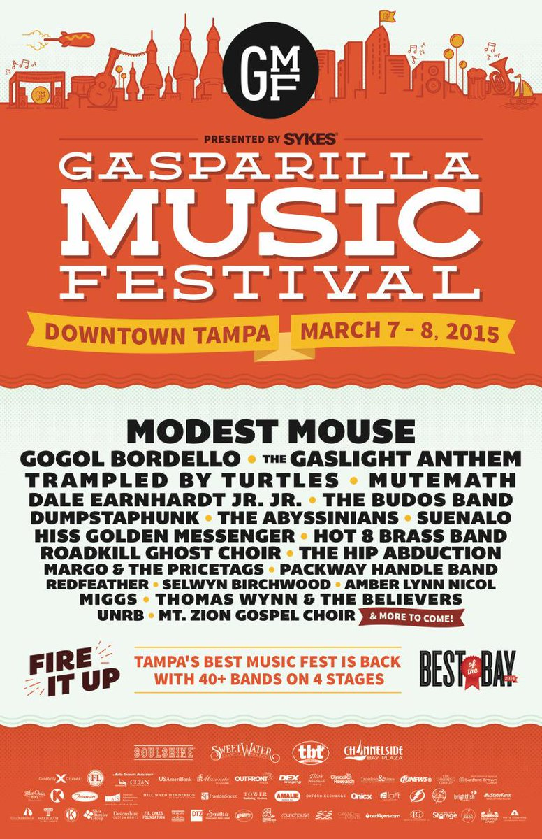 Gasparilla Music Modest Mouse Tampa 2015