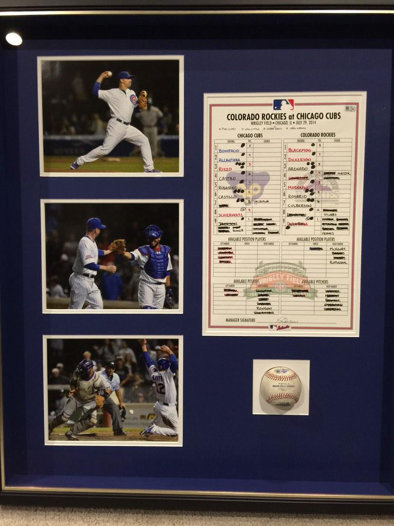 Want to see something cool? 1-0 0.00 ERA Thanks @cubs authentics http://t.co/vQ1GonZ6mO
