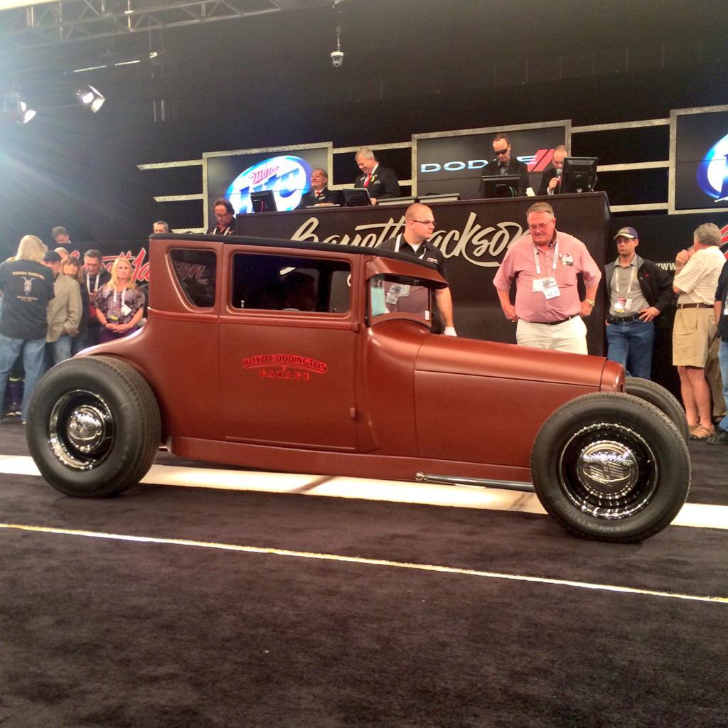 "Barrett-Jackson on Twitter: ""Designed by the Hot Rod Hero Boyd Coddington! Lot #2059 1927 #Ford ..."