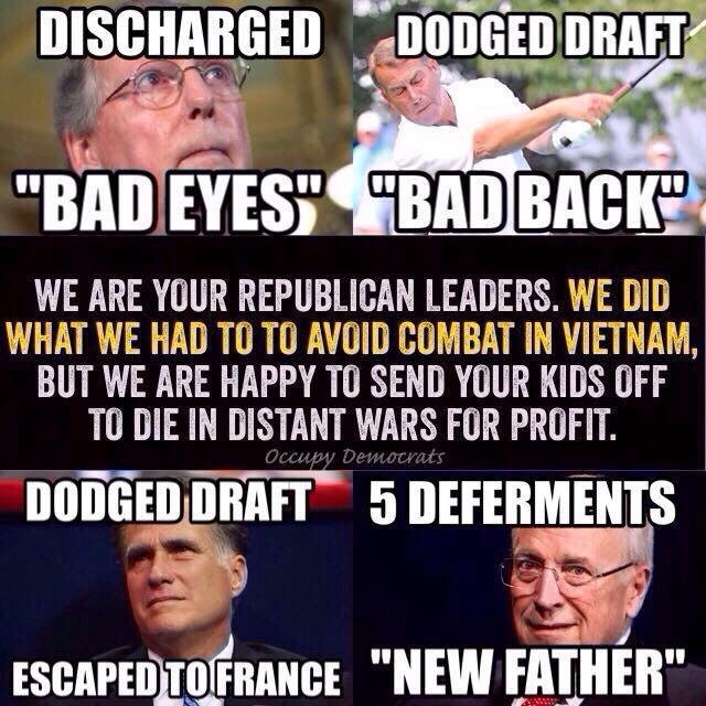 Obama draft dodger