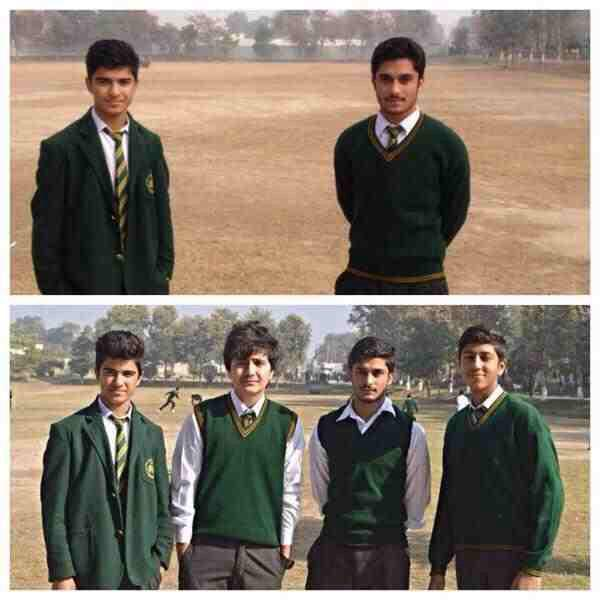 Two friends recreate a picture they originally took with friends they lost in the Peshawar school attack. http://t.co/p1kxkPXeTR