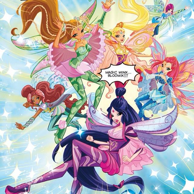 Winx club all on twitter magic winx bloomix winxclub - Winx magic bloomix ...
