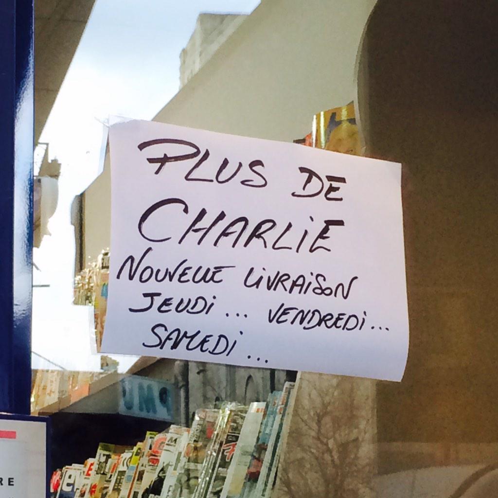 Plus de Charlie -  NRJ Avignon 98.2 on Twitter (@NRJAvignon)