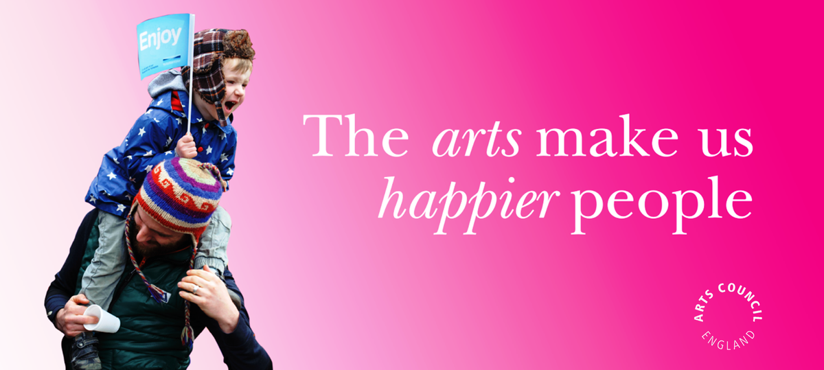 Art makes us happy! The report into links btwn happiness, arts, culture is out:http://t.co/fxYYbredwv #culturematters http://t.co/ujeeiIdOIk