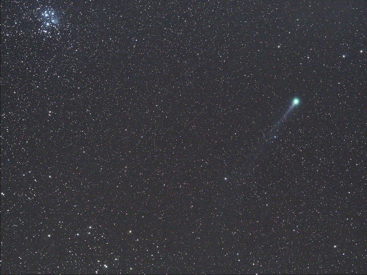 スバルとラブジョイ彗星(2015/01/13)