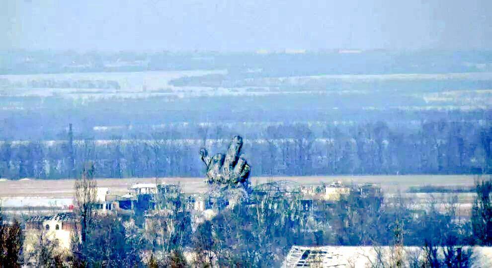 Террористы обстреливают Донецкий аэропорт с территорий жилых районов, - ОБСЕ - Цензор.НЕТ 8675