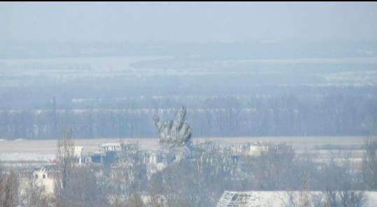 Террористы обстреливают Донецкий аэропорт с территорий жилых районов, - ОБСЕ - Цензор.НЕТ 9257