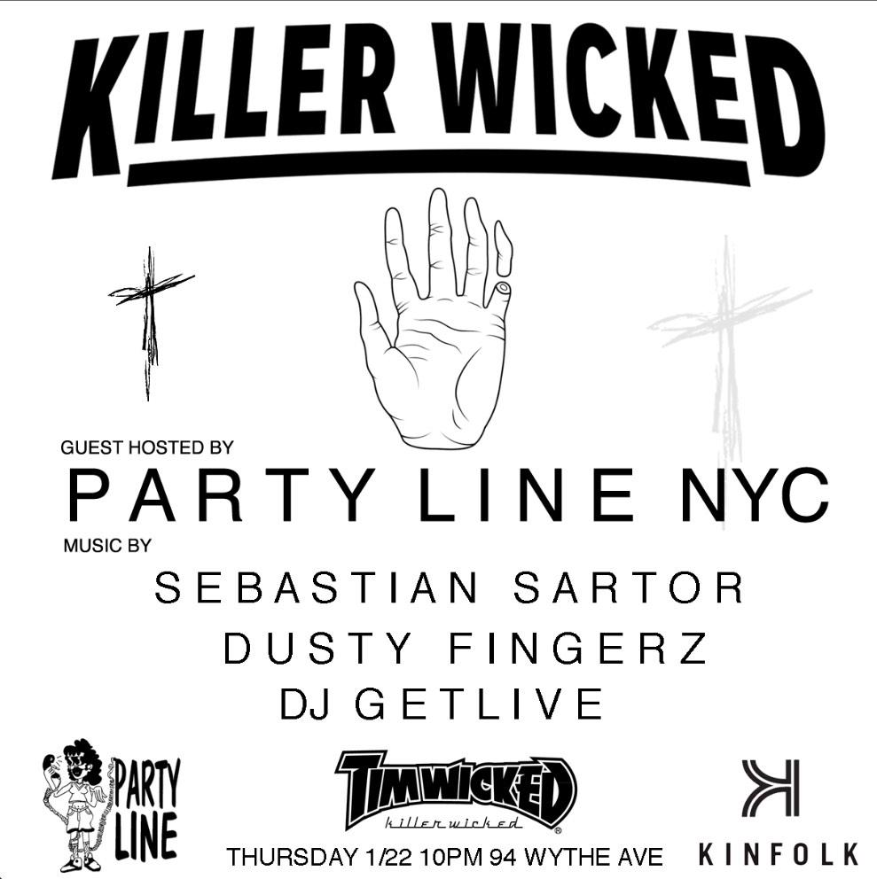 Next Thursday I will be playing @kinfolklife for the Killer Wicked party hosted by @PartyLineNYC http://t.co/UGqABlGKvf
