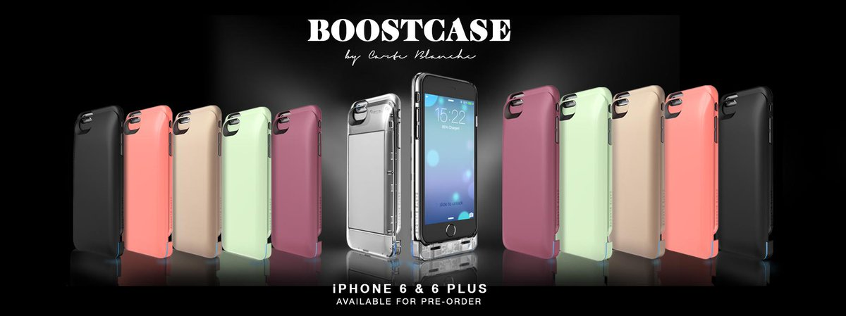 Now Available for Pre-Order: iPhone 6 & iPhone 6+ Boostcase & the first ever Clear Boostcase. http://t.co/NjKgUKWohc http://t.co/5v4zFamJGq