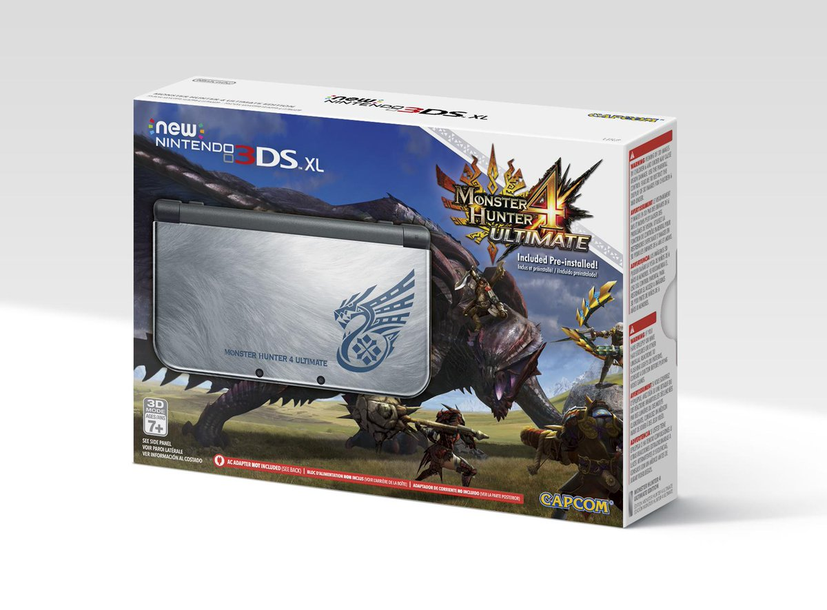 N3DS XL MH4U