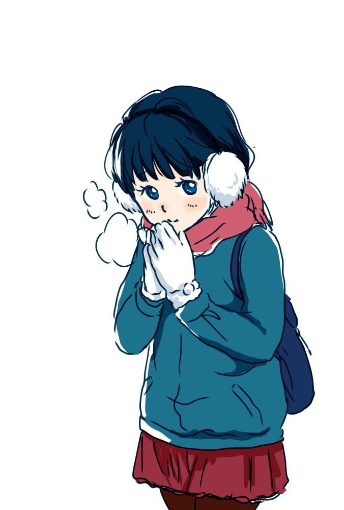お題「冬の女の子」 #20分一本勝負