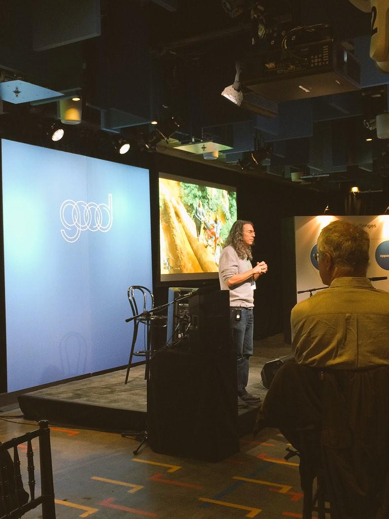 Moderating the GOOD Summit at Facebook! http://t.co/LklP5zKK60