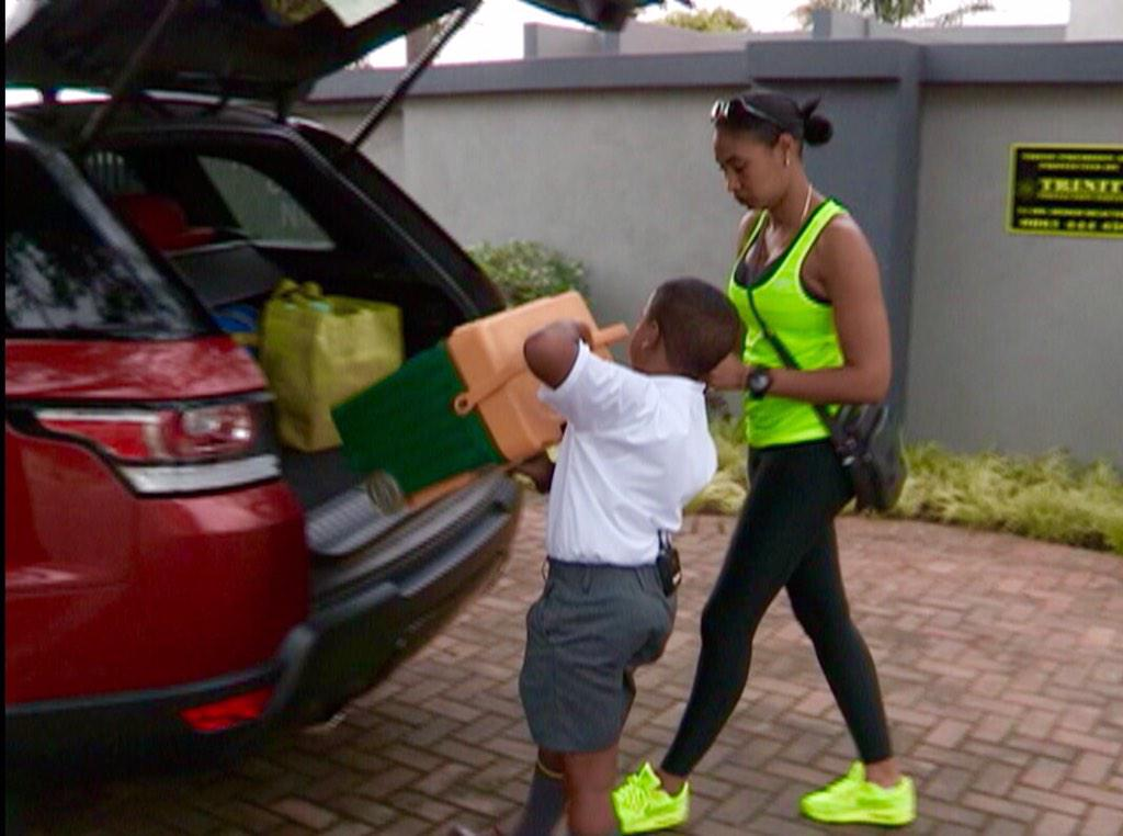 Bernard Parker On Twitter Catch My Son Skye And His Lil Brother Storm With Mommy Wendy The Breakfast Show 2mrw Morning SABC3 Backtoschool