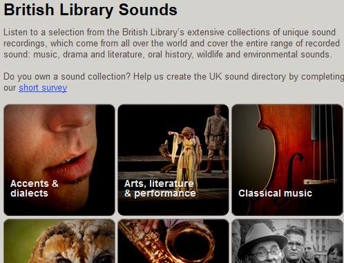 Have you heard? 60,000 music, speech and sfx @britishlibrary recordings on http://t.co/mRPkyiWnpZ #SaveOurSounds http://t.co/LpnI6urSZP